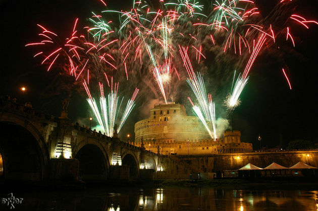 Roma-fuochi-artificio